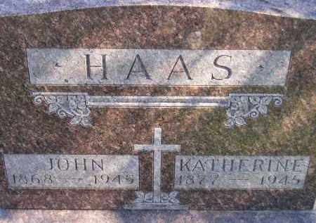 HAAS, KATHERINE - Hanson County, South Dakota | KATHERINE HAAS - South Dakota Gravestone Photos
