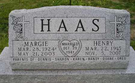 HAAS, HENRY - Hanson County, South Dakota | HENRY HAAS - South Dakota Gravestone Photos