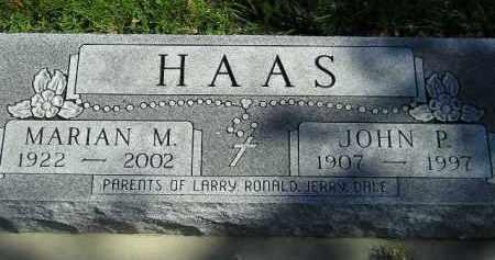 HAAS, MARIAN M. - Hanson County, South Dakota   MARIAN M. HAAS - South Dakota Gravestone Photos