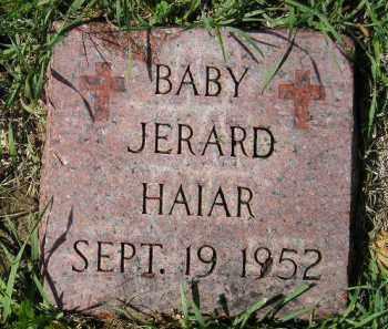 HAIAR, JERARD - Hanson County, South Dakota | JERARD HAIAR - South Dakota Gravestone Photos