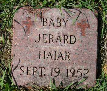 HAIAR, JERARD - Hanson County, South Dakota | JERARD HAIAR - South Dakota Gravestone Photos