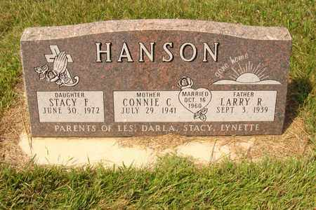HANSON, STACY F. - Hanson County, South Dakota | STACY F. HANSON - South Dakota Gravestone Photos