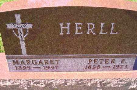 HERLL, PETER P. - Hanson County, South Dakota   PETER P. HERLL - South Dakota Gravestone Photos
