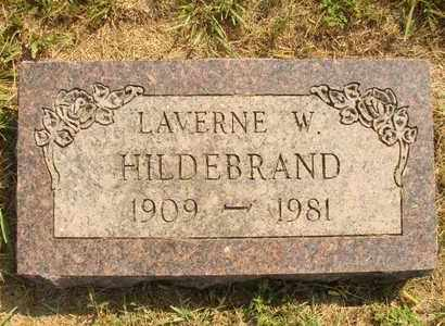 HILDEBRAND, LAVERNE W. - Hanson County, South Dakota | LAVERNE W. HILDEBRAND - South Dakota Gravestone Photos