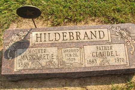 HILDEBRAND, MARGARET E. - Hanson County, South Dakota | MARGARET E. HILDEBRAND - South Dakota Gravestone Photos