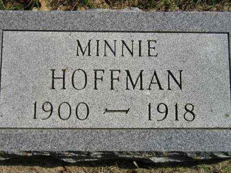 HOFFMAN, MINNIE - Hanson County, South Dakota | MINNIE HOFFMAN - South Dakota Gravestone Photos