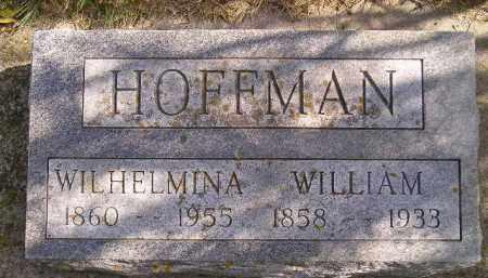 HOFFMAN, WILHELMINA - Hanson County, South Dakota   WILHELMINA HOFFMAN - South Dakota Gravestone Photos