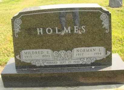 HOLMES, MILDRED E. - Hanson County, South Dakota | MILDRED E. HOLMES - South Dakota Gravestone Photos