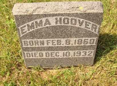 HOOVER, EMMA - Hanson County, South Dakota | EMMA HOOVER - South Dakota Gravestone Photos