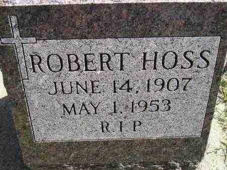 HOSS, ROBERT - Hanson County, South Dakota   ROBERT HOSS - South Dakota Gravestone Photos