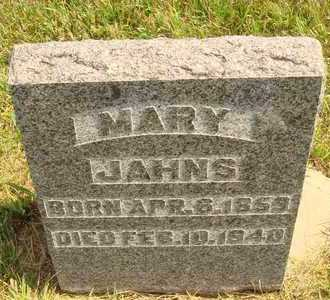 JAHNS, MARY - Hanson County, South Dakota | MARY JAHNS - South Dakota Gravestone Photos