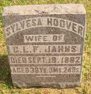 HOOVER JANNS, SYLVESA - Hanson County, South Dakota | SYLVESA HOOVER JANNS - South Dakota Gravestone Photos