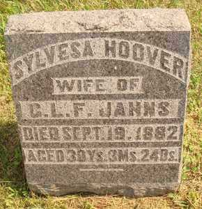 JANNS, SYLVESA - Hanson County, South Dakota | SYLVESA JANNS - South Dakota Gravestone Photos