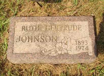 JOHNSON, RUTH GERTRUDE - Hanson County, South Dakota   RUTH GERTRUDE JOHNSON - South Dakota Gravestone Photos