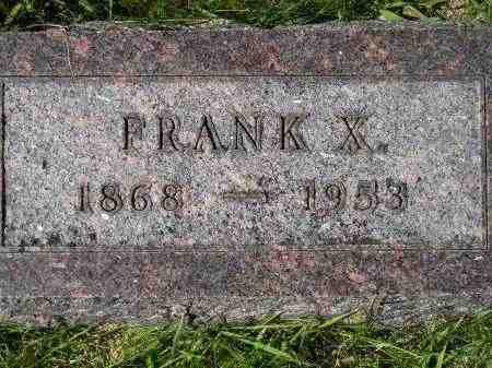 KAMPSHOFF, FRANK X. - Hanson County, South Dakota   FRANK X. KAMPSHOFF - South Dakota Gravestone Photos