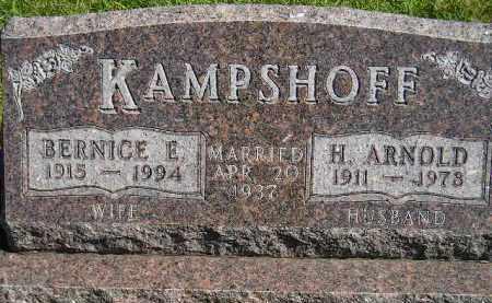 KAMPSHOFF, BERNICE E. - Hanson County, South Dakota | BERNICE E. KAMPSHOFF - South Dakota Gravestone Photos
