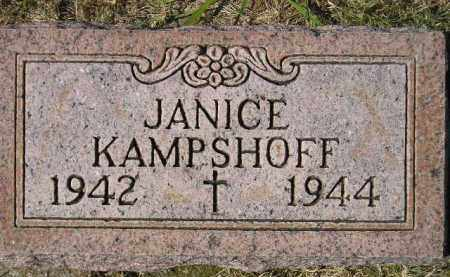 KAMPSHOFF, JANICE - Hanson County, South Dakota | JANICE KAMPSHOFF - South Dakota Gravestone Photos
