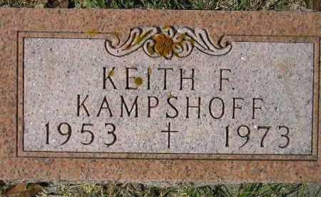 KAMPSHOFF, KEITH F. - Hanson County, South Dakota | KEITH F. KAMPSHOFF - South Dakota Gravestone Photos