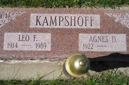 KAMPSHOFF, AGNES D. - Hanson County, South Dakota | AGNES D. KAMPSHOFF - South Dakota Gravestone Photos