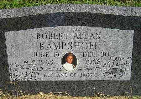 KAMPSHOFF, ROBERT ALLAN - Hanson County, South Dakota | ROBERT ALLAN KAMPSHOFF - South Dakota Gravestone Photos