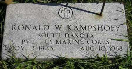 KAMPSHOFF, RONALD W. (MILITARY) - Hanson County, South Dakota | RONALD W. (MILITARY) KAMPSHOFF - South Dakota Gravestone Photos