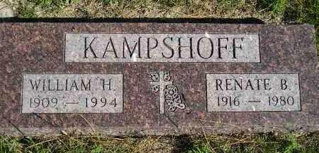 KAMPSHOFF, RENATE B. - Hanson County, South Dakota | RENATE B. KAMPSHOFF - South Dakota Gravestone Photos