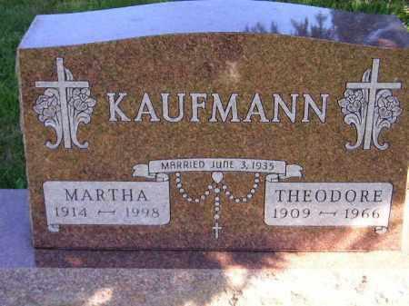 KAUFMANN, MARTHA - Hanson County, South Dakota | MARTHA KAUFMANN - South Dakota Gravestone Photos