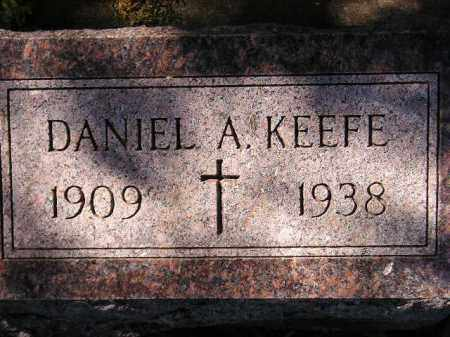 KEEFE, DANIEL A. - Hanson County, South Dakota   DANIEL A. KEEFE - South Dakota Gravestone Photos