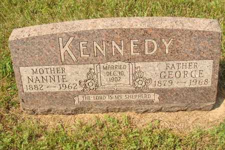 KENNEDY, GEORGE - Hanson County, South Dakota   GEORGE KENNEDY - South Dakota Gravestone Photos