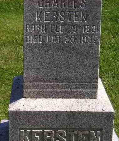 KERSTEN, CHARLES - Hanson County, South Dakota | CHARLES KERSTEN - South Dakota Gravestone Photos