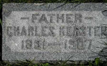 KERSTEN, CHARLES - Hanson County, South Dakota   CHARLES KERSTEN - South Dakota Gravestone Photos