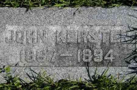 KERSTEN, JOHN - Hanson County, South Dakota | JOHN KERSTEN - South Dakota Gravestone Photos