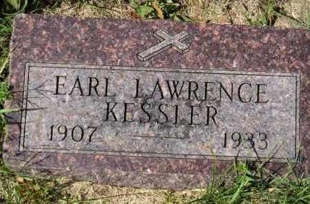KESSLER, EARL LAWRENCE - Hanson County, South Dakota   EARL LAWRENCE KESSLER - South Dakota Gravestone Photos