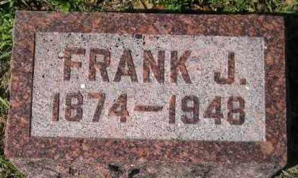 KESSLER, FRANK J. - Hanson County, South Dakota   FRANK J. KESSLER - South Dakota Gravestone Photos