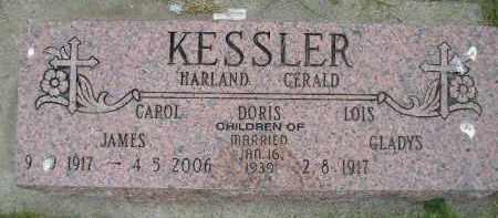 KESSLER, GLADYS - Hanson County, South Dakota | GLADYS KESSLER - South Dakota Gravestone Photos