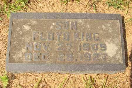 KING, FLOYD - Hanson County, South Dakota   FLOYD KING - South Dakota Gravestone Photos