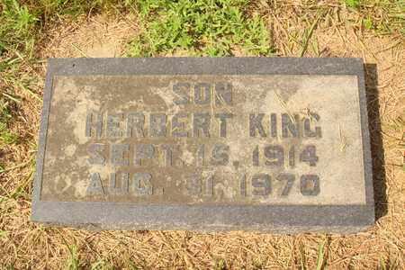KING, HERBERT - Hanson County, South Dakota | HERBERT KING - South Dakota Gravestone Photos