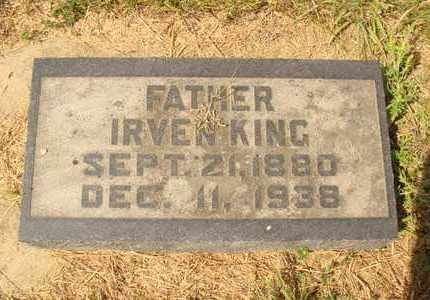 KING, IRVEN - Hanson County, South Dakota | IRVEN KING - South Dakota Gravestone Photos