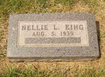 KING, NELLIE L. - Hanson County, South Dakota   NELLIE L. KING - South Dakota Gravestone Photos