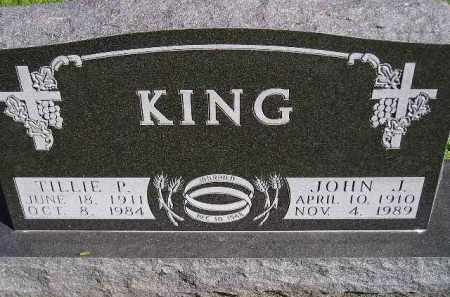KING, TILLIE P. - Hanson County, South Dakota | TILLIE P. KING - South Dakota Gravestone Photos