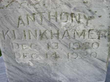 KLINKHAMMER, ANTHONY - Hanson County, South Dakota | ANTHONY KLINKHAMMER - South Dakota Gravestone Photos