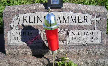 KLINKHAMMER, WILLIAM J. - Hanson County, South Dakota | WILLIAM J. KLINKHAMMER - South Dakota Gravestone Photos