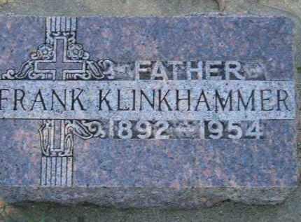 KLINKHAMMER, FRANK - Hanson County, South Dakota | FRANK KLINKHAMMER - South Dakota Gravestone Photos