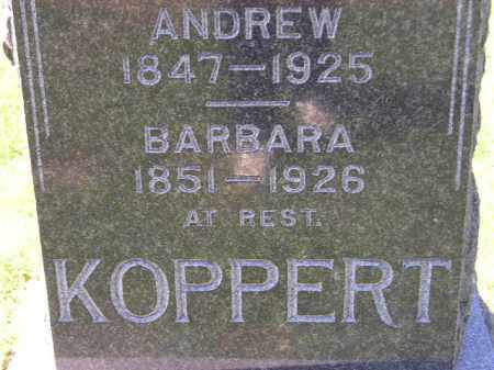 KOPPERT, BARBARA - Hanson County, South Dakota | BARBARA KOPPERT - South Dakota Gravestone Photos