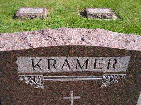 KRAMER, FAMILY STONE - Hanson County, South Dakota | FAMILY STONE KRAMER - South Dakota Gravestone Photos