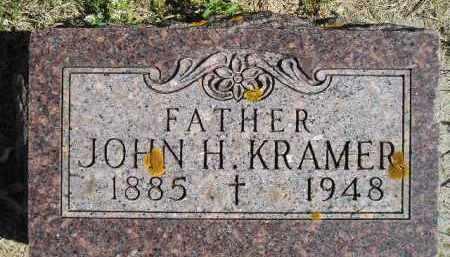 KRAMER, JOHN H. - Hanson County, South Dakota | JOHN H. KRAMER - South Dakota Gravestone Photos