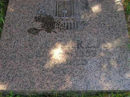 KREJSA, A.J. (REV.) - Hanson County, South Dakota | A.J. (REV.) KREJSA - South Dakota Gravestone Photos