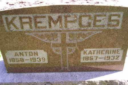 KREMPGES, ANTON - Hanson County, South Dakota   ANTON KREMPGES - South Dakota Gravestone Photos
