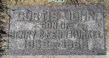 KUNKEL, CURTIS JOHN - Hanson County, South Dakota | CURTIS JOHN KUNKEL - South Dakota Gravestone Photos