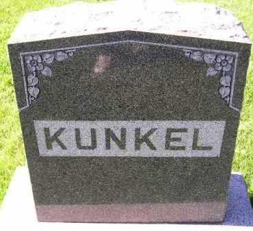 KUNKEL, FAMILY STONE - Hanson County, South Dakota | FAMILY STONE KUNKEL - South Dakota Gravestone Photos